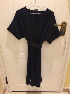 Vero Moda Kleid  schwarz mit Gürtel