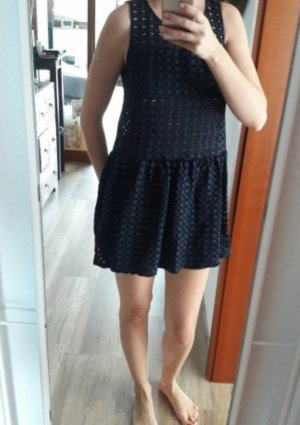 Vero Moda Kleid Seethrough Cutouts Sommer Minikleid