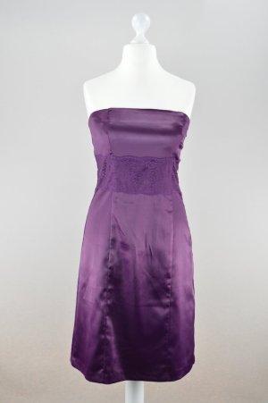 Vero Moda Kleid Spitze lila Größe 40