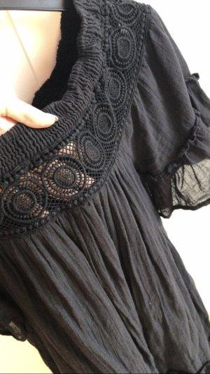 Vero Moda Kleid spitze schwarz neu schulterfrei Carmen