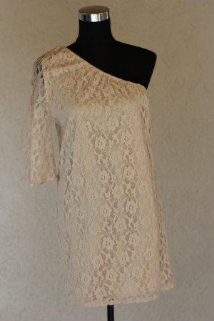 Vero Moda Kleid, Spitzenkleid, Spitze, One-Shoulder, blogger