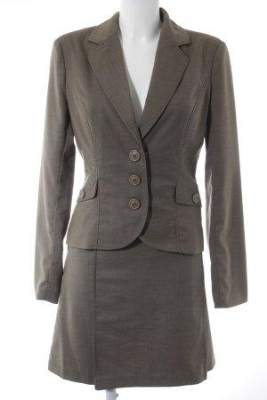 Vero Moda Tailleur beige-gris brun style d'affaires
