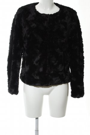 Vero Moda Kunstfelljacke schwarz Elegant