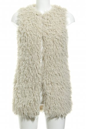 Vero Moda Vest van imitatiebont room casual uitstraling