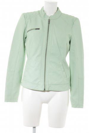 Vero Moda Faux Leather Jacket mint casual look