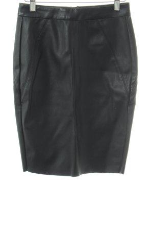 Vero Moda Faux Leather Skirt black casual look
