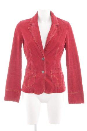Vero Moda Kurz-Blazer rot Jeans-Optik