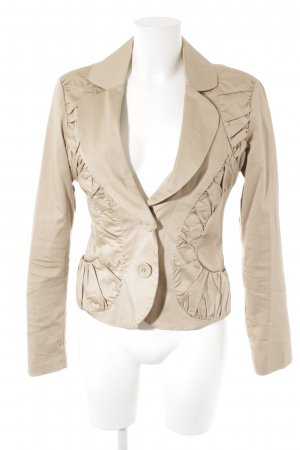 Vero Moda Kurz-Blazer beige Business-Look