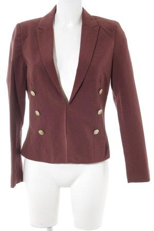Vero Moda Kurz-Blazer bordeauxrot Business-Look