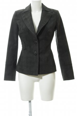 Vero Moda Kurz-Blazer dunkelgrau-schwarz Glencheckmuster Business-Look