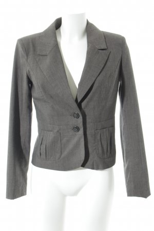 Vero Moda Kurz-Blazer grau Business-Look