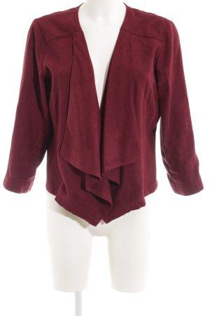 Vero Moda Kurz-Blazer purpur Casual-Look