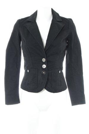 Vero Moda Kurz-Blazer schwarz Casual-Look