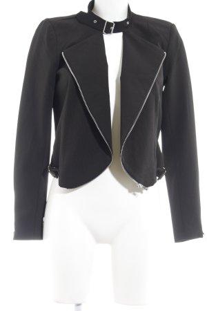 Vero Moda Kurz-Blazer schwarz-magenta Elegant