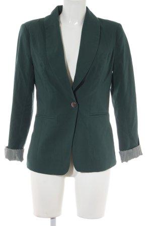 Vero Moda Kurz-Blazer waldgrün-dunkelgrün Business-Look
