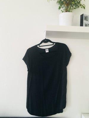Vero Moda kurzärmlige Bluse T-Shirt Oberteil schwarz Badic