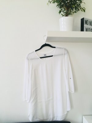 Vero Moda kurzärmlige Bluse T-Shirt Oberteil weiß Basic