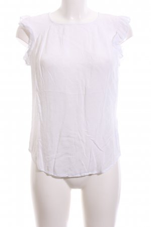Vero Moda Kurzarm-Bluse weiß Business-Look