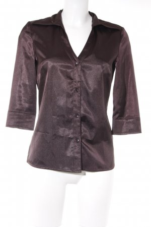 Vero Moda Kurzarm-Bluse purpur Business-Look