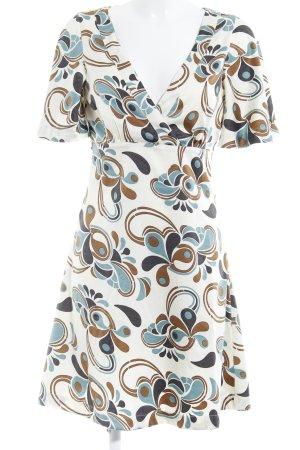Vero Moda Kurzarmkleid abstraktes Muster Elegant
