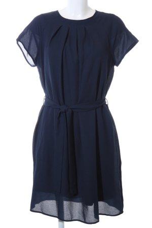 Vero Moda Kurzarmkleid blau Business-Look