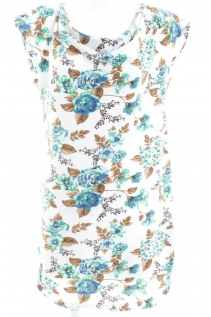 Vero Moda Kurzarmkleid Blumenmuster extravaganter Stil