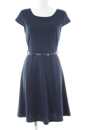 Vero Moda Kurzarmkleid dunkelblau Casual-Look