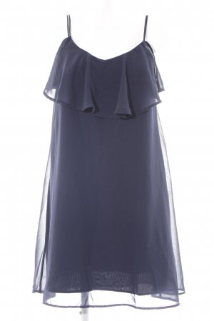 Vero Moda Kurzarmkleid dunkelblau Elegant