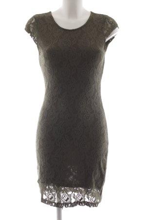 Vero Moda Kurzarmkleid grüngrau Elegant
