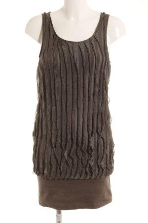 Vero Moda Kurzarmkleid khaki schlichter Stil