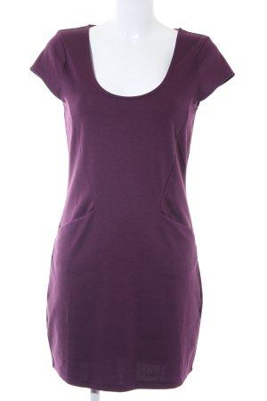 Vero Moda Kurzarmkleid purpur Casual-Look