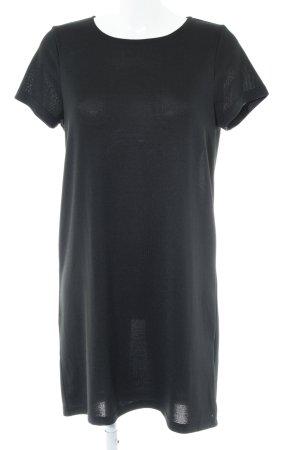 Vero Moda Kurzarmkleid schwarz Casual-Look