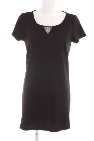 Vero Moda Kurzarmkleid schwarz Elegant