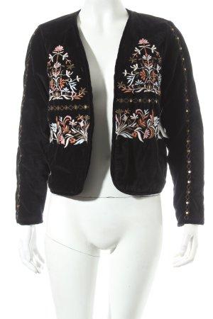 Vero Moda Kurzjacke florales Muster extravaganter Stil