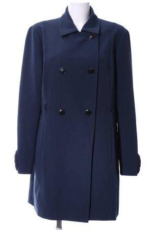 Vero Moda Kurzmantel blau Business-Look