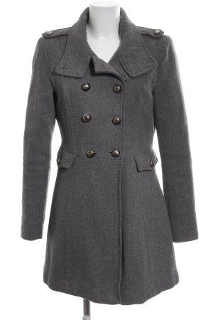 Vero Moda Abrigo corto gris claro estilo «business»
