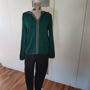 Vero Moda L grün Tunika Folklore