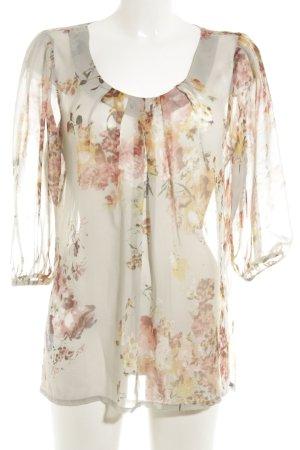 Vero Moda Langarm-Bluse florales Muster Casual-Look