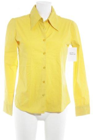 Vero Moda Langarm-Bluse gelb klassischer Stil