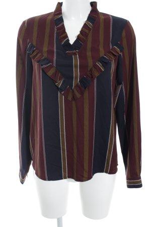 Vero Moda Langarm-Bluse mehrfarbig minimalistischer Stil