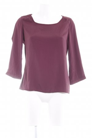 Vero Moda Langarm-Bluse purpur Elegant