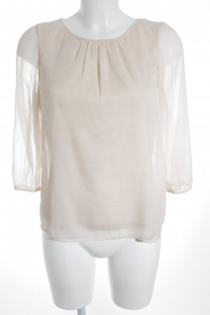 Vero Moda Langarm-Bluse rosé Casual-Look
