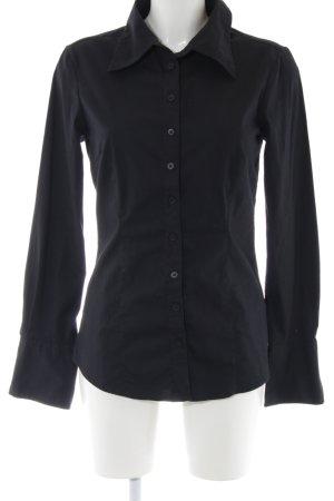 Vero Moda Langarm-Bluse schwarz Business-Look