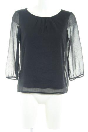 Vero Moda Langarm-Bluse schwarz klassischer Stil
