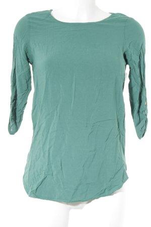 Vero Moda Langarm-Bluse waldgrün Business-Look