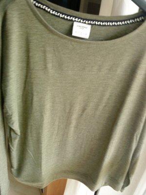 Vero moda Langarm_Shirt khakigrün M