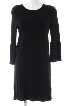 Vero Moda Langarmkleid schwarz minimalistischer Stil