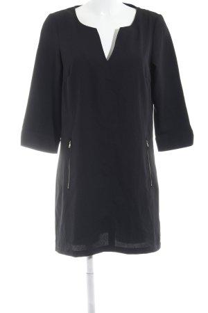 Vero Moda Langarmkleid schwarz schlichter Stil