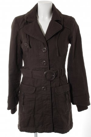 Vero Moda Lange Jacke graubraun Casual-Look