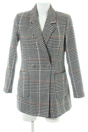 Vero Moda Long Jacket houndstooth pattern '50s style